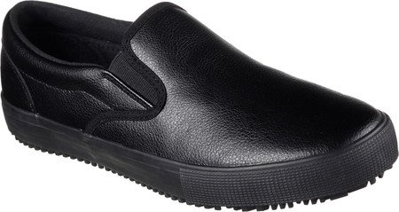 Skechers Men's Work Relaxed Fit Gibson Alcade SR Slip-On Sneaker