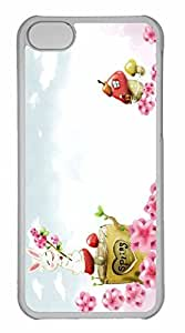 iPhone 5C Case, Personalized Custom Spring Season 6 for iPhone 5C PC Clear Case