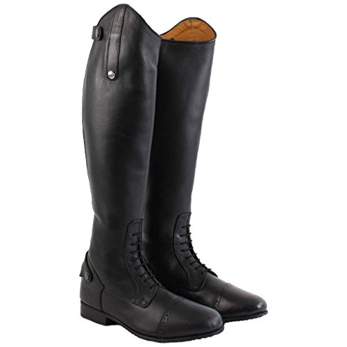 Mark Field Competition Boots Leather Short Long Black Adults Todd HxraH