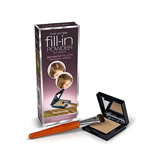 Cover Your Gray Fill-In Powder w/ Procapil - Light Brown
