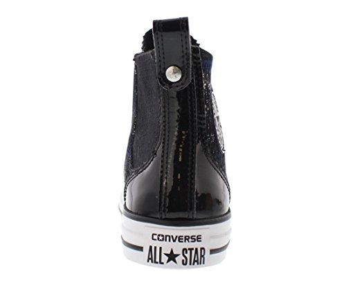 Converse Chuck Taylor Chelsee Hi Scarpe Casual Da Donna Taglia Nero / Grigio / Bianco