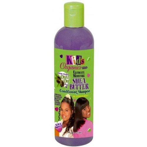 Africa's Best Kids Organics Shea Butter Shampoo, 12 Ounce
