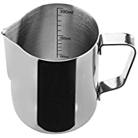 COPPS Stainless Steel Milk Frothing Pitcher Measurements Inside Perfect for Espresso Machines Milk Frothers Latte Art