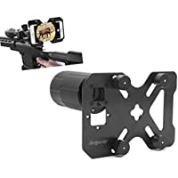Hunting Shoot Scope Mount Adapter Camera Adapter Smart Mounting System for Gun Scope / Air Gun Scope / Spotting Scope / Telescope / Microscope / Binocular / Monocular Record Hunting via Cell Phone