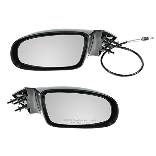 Manual Side Mirrors Pair Set Left LH & Right RH for 95-96 Chevy Impala Caprice