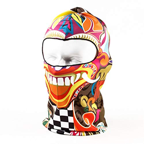 New Bicycle Tactical Winter Sport Helmet Liner Hood Hats Cap Snowboard Halloween Full Face Mask Windproof -