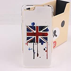 ZXM- Vintage British Flag Plastic Hard Back Cover for iPhone 6 Plus