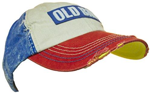 c97db3c8cf540 Old Bay Distressed Logo Men s Baseball Cap Hat (one size