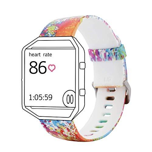 Tkasing Replacement Band for Fitbit Blaze Fitbit Blaze Bracelet Strap Wristbands (No Tracker No Frame) (DesignF, S)