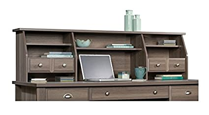 Amazon Sauder Shoal Creek Hutch Organizer In Diamond Ash