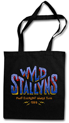 WYLD STALLYNS HIPSTER BAG �?aventura de y film de Bill et Ted Bill & Ted's and Excellent Adventure Music Band