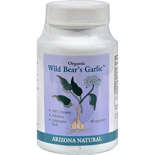 Arizona Natural Resource Wild Bear s Garlic - 235mg - 90 Caps - Gluten Free - Wheat Free - by Unknown ()