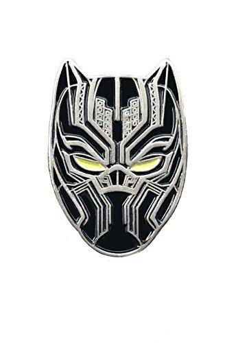 Balanced Co. Black Panther Enamel Pin T'Challa Pin ()