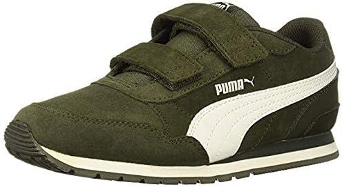 Little Kids Shoes St Runner V2 Strap Forest Green Sneakers Size 11