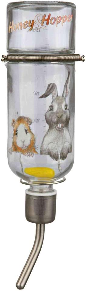 Trixie Bebedero Honey & Hopper, Cristal, 250 ml