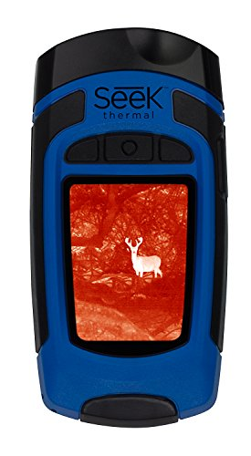 Thermal Imager Handheld (Seek Thermal Reveal Thermal Imaging Camera and LED Light, Blue)