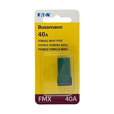Bussmann (BP/FMX-40-RP) Green 40 Amp Female Maxi Fuse: Automotive