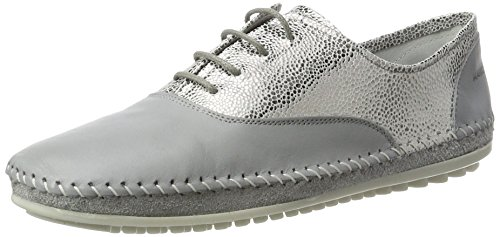 Grigio Marc Shoes 00227 Luna grau Scarpe Derby Stringate Donna Yqvr1SqxUw