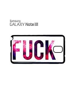 Galaxy Fu*k Dork Dope Mobile Cell Phone Case Samsung Note 3 Black