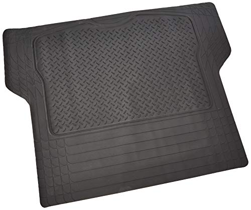 2001 Area Rug - BDK MT-785-BK Black Heavy Duty Cargo Floor Mat-All Weather Trunk Protection, Trimmable to Fit & Durable HD Rubber