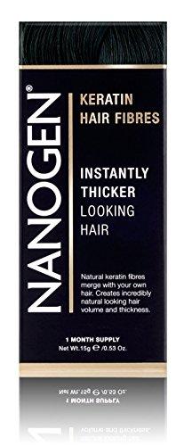 Nanogen Hair Thickening Keratin Fibres Black by Nanogen