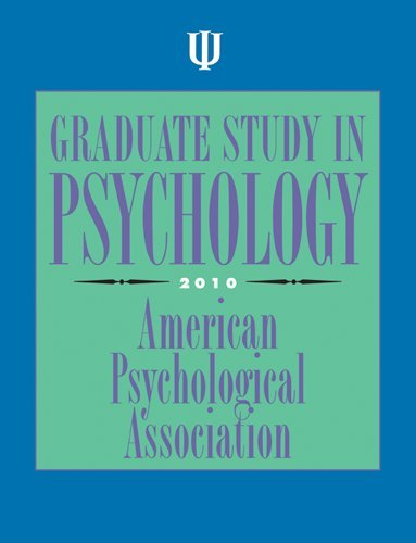 Graduate Study in Psychology 2010