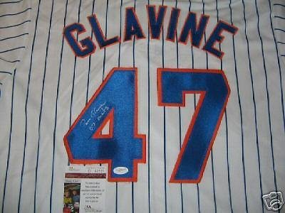 (Autographed Tom Glavine Jersey - 2007 coa - JSA Certified - Autographed MLB Jerseys)