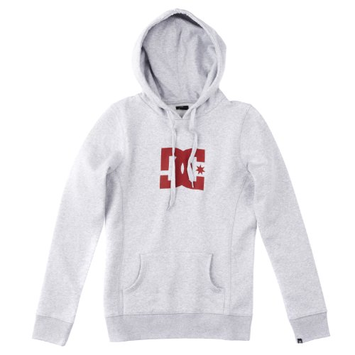 DC Shoes Star Pull-over pour femme Gris heather grey/lipstick 36