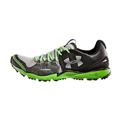 Under Armour Men's UA Charge RC Running Shoes (11.5, Black/steel/green)