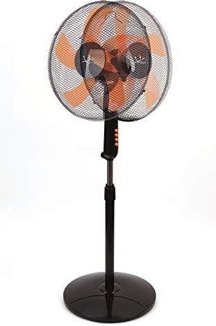 Jata VP3035 Ventilador de pie, 50 W, 40 Decibelios, Plástico, 3 Velocidades, Negro: Amazon.es: Hogar