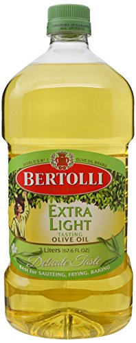 Bertolli Extra Virgin Olive Oil,Cooking Oil, World's Best Selling Olive Oil Brand. 67.6 OZ. (2 (Vegetable Oil Frying)