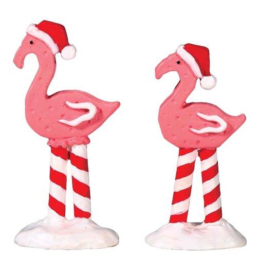 Pink Flamingos Set/2 -