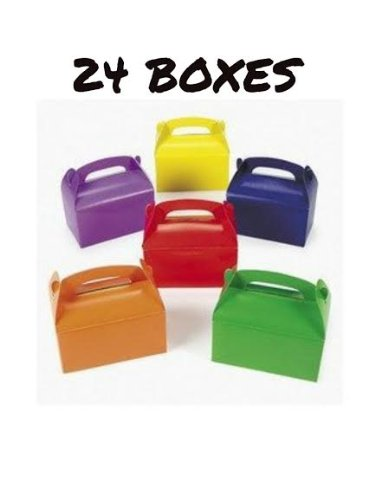 Bright Color Cardboard Treat Boxes Party Favors -