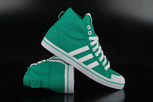 adidas Zapatillas Adidas W Originals Honey Mid Verde de Stripes tela runwh mujer para triblu wpqwTYr