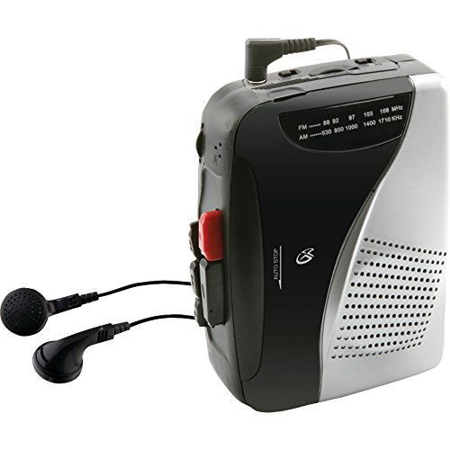 GPX CAS335B Cassette Player electronic consumer