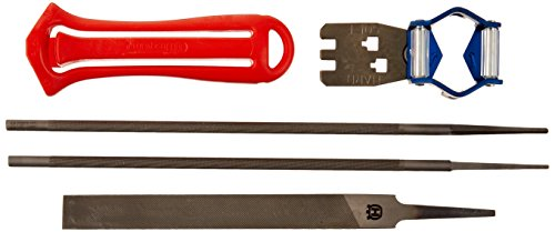 (Husqvarna 531300081 3/8-Inch Saw Chain Filing Kit)