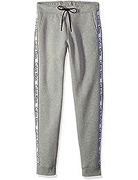 Calvin Klein Men's Knit Pant with Logo Tape Detailing,