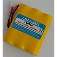LENMAR CBD366 3.6 VOLTS 1200MAH REPLACEMENT BATTERY FOR CORDLESS PHONES: 30% More capacity than the 800MAH for longer talk time : Fits: AT&T - Lucent Technologies 3300, 3301, 91076, Clarity C420, Motorola E51, MA-300, MA-350, MA-351, MA-357, MA-361, MA-363, MA-550, MA-551, MA-580, MA-581, MD-400, MD-700, MD-7000, MD-7151, MD-750, MD-761, SD-4500, Vtech ia5854. Replaces: AT&T - Lucent Technologies 80-5071-00-00, Casio 3/2 3AACA, 3N-270AA, Dantona 3AA-A BATT-3300, Empire CPB-400D, Energizer ER-P240, GE - General Electric D-AA600BX3, 17654, 21671, 22402, 27851, 52459, 86144, 86506, TL26144, TL26506, GP 60AAS3BMJ, Jasco TL26506, Motorola AA600BX3, Philips SJB4152, RCA TC-930, Sanik 3SN-AA60-S-J1, 3SN-AA80-S-J1, Sanyo PCF03.