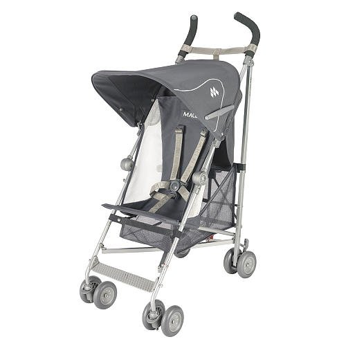 Amazon.com : Maclaren Volo Stroller - Charcoal/Silver : Baby ...