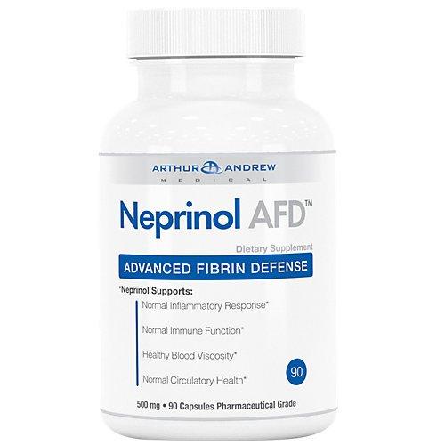 Arthur Andrew Medical - Neprinol - Advanced Fibrin Defense - Ultra Potency Systemic Enzyme Blend - 90 caps