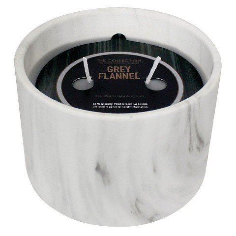 y Flannel Marble Jar Candle (Marble Flannel)