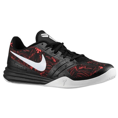 size 40 b29d1 225c6 Galleon - Nike Mens KB Bright Crimson Black Basketball Shoes (704942-600)  Mens 8.5 D(M) US