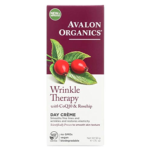 Avalon Organics Co-Enzyme Q10 Skin Care CoQ10 Wrinkle Defense Crème 1.75 fl. ()