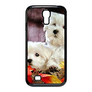 QNMLGB Hard Plastic of Cute Dog Cover Phone Case For Samsung Galaxy S4 i9500 [Pattern-1]