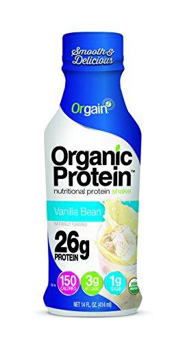 Chocolate Vanilla Fudge (Orgain Organic 26g Protein Shake, Vanilla Bean, 14 Ounce, 12 Count)