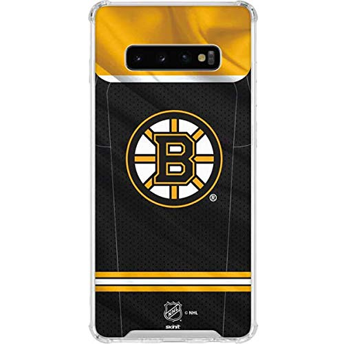 official photos ef26e a29cd Amazon.com: Skinit Boston Bruins Home Jersey Galaxy S10+ ...