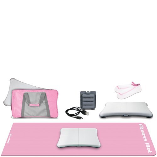 Wii 5-In-1 Lady Fitness Workout Kit - Pink by dreamGEAR