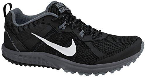 Nike Trail Shoes (Nike Wild Trail Men's Running Shoes 642833-001 Size 8 D (Standard Width) Black/Metallic Platinum-Cool Grey-Dark)