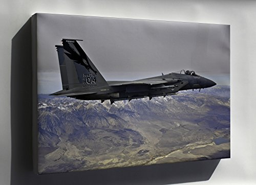- Canvas 24x36; Air Force F-15C Eagle F-15 144Th Fw California Air National Guard