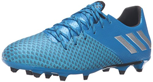 adidas Men's Messi 16.2 fg Soccer Shoe, Shock Blue Matte Silver/Black, ((8.5 M US)